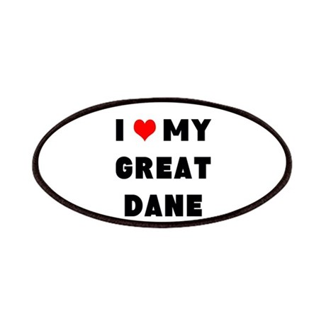 luv my great dane Patches