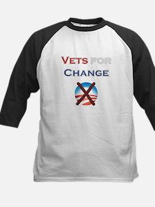 Vets for Change Kids Baseball Jersey