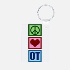 Peace Love OT Keychains