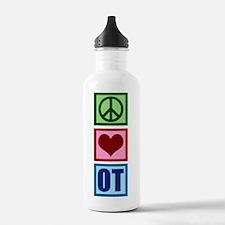Peace Love OT Water Bottle