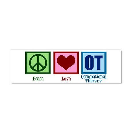 Peace Love OT Car Magnet 10 x 3
