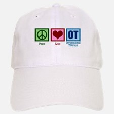 Peace Love OT Baseball Baseball Cap