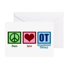 Peace Love OT Greeting Card