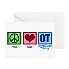 Peace Love OT Greeting Cards (Pk of 10)