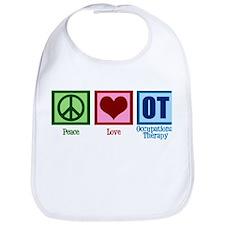 Peace Love OT Bib