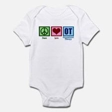 Peace Love OT Infant Bodysuit