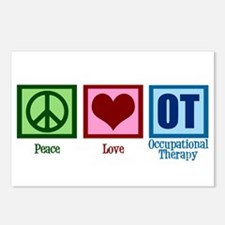 Peace Love OT Postcards (Package of 8)
