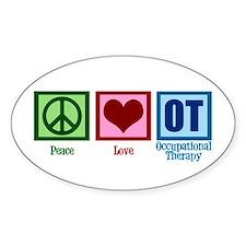 Peace Love OT Decal
