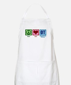 Peace Love OT Apron