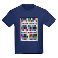 Kids' Dark Prime Factorization T-Shirt
