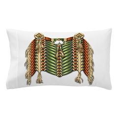 Native American Breastplate 3 Pillow Case