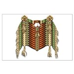 Native American Breastplate 4 Large Poster