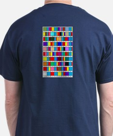 Dark Prime Factorization T-Shirt