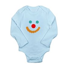 Happy Face Long Sleeve Infant Bodysuit