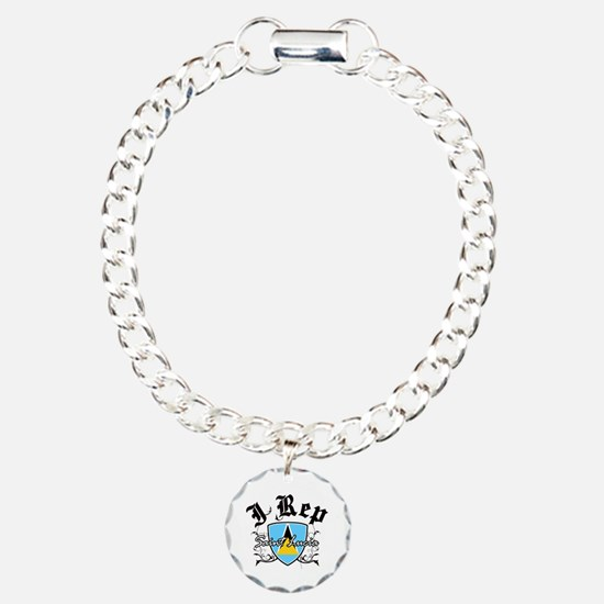 I Rep Saint Lucia Bracelet