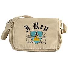 I Rep Saint Lucia Messenger Bag