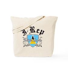 I Rep Saint Lucia Tote Bag