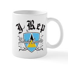 I Rep Saint Lucia Mug