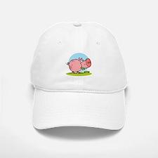 Greedy Pig Baseball Baseball Cap