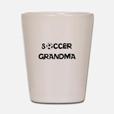 soccer grandma Shot Glass