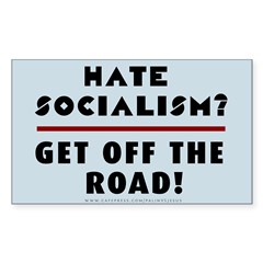 Hate Socialism? Get off Decal