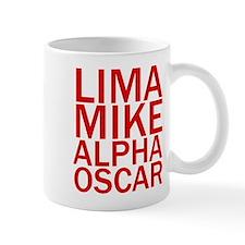 LMAO-Red Mug