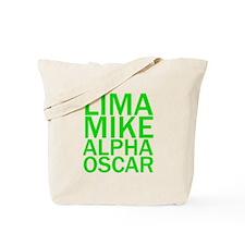 LMAO-Green Tote Bag