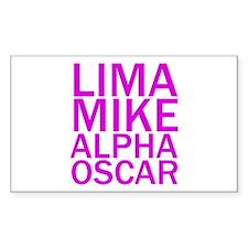 LMAO-Purple Decal