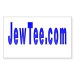 JewTee.com Rectangle Sticker