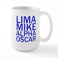 LMAO-Blue Mug