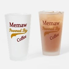 Funny Memaw Drinking Glass