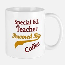 Special Ed. Teacher Powered By Coffee Mugs