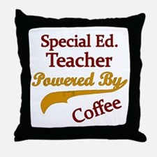 Funny Powered Throw Pillow