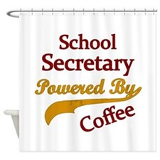 Funny School admin Shower Curtain