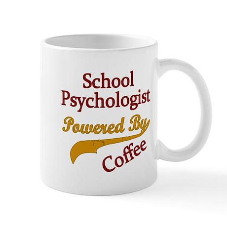 School Psychologist Powered By Coffee Mugs