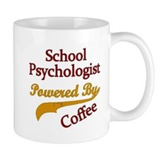 School Psychologist Powered By Coffee Mugs