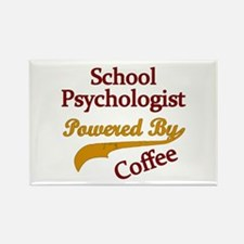 School Psychologist Powered By Coffee Magnets