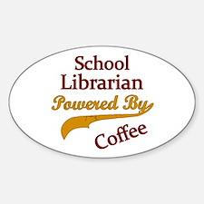 Unique School administrator Sticker (Oval)