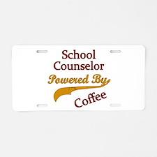 Cute Counselor Aluminum License Plate