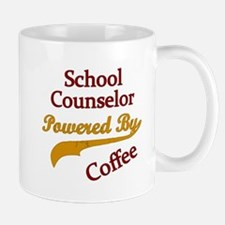 Powered by coffee Teacher counselor Mugs