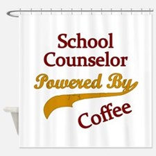 Cute Counselor Shower Curtain