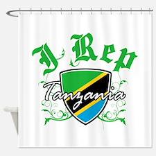 I Rep Tanzania Shower Curtain