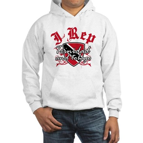 I Rep Trinidad and Tobago Hooded Sweatshirt