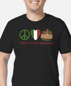 Peace, Love & Spaghetti T-Shirt