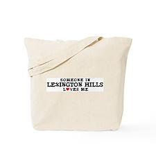 Lexington Hills: Loves Me Tote Bag