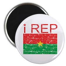 I Rep Burkina Faso Magnet
