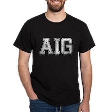 AIG, Vintage, T-Shirt