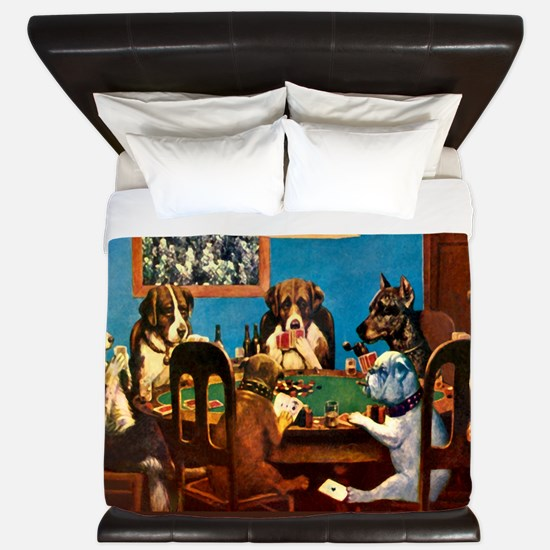 A friend in need Poker King Duvet