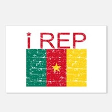 I Rep Cameroon Postcards (Package of 8)