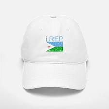 I Rep Djibouti Baseball Baseball Cap